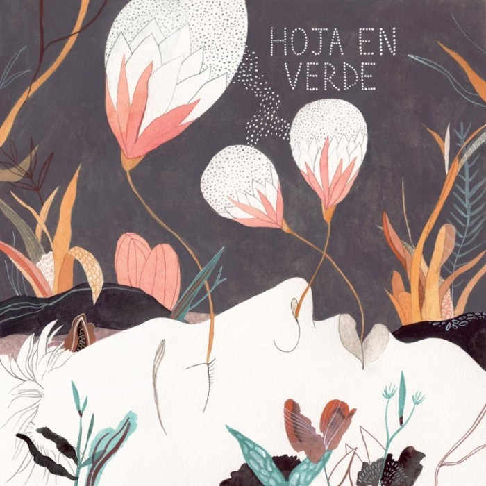 Comic Aun Book Cover Illustration Ver : Hoja en verde album cover luisa rivera
